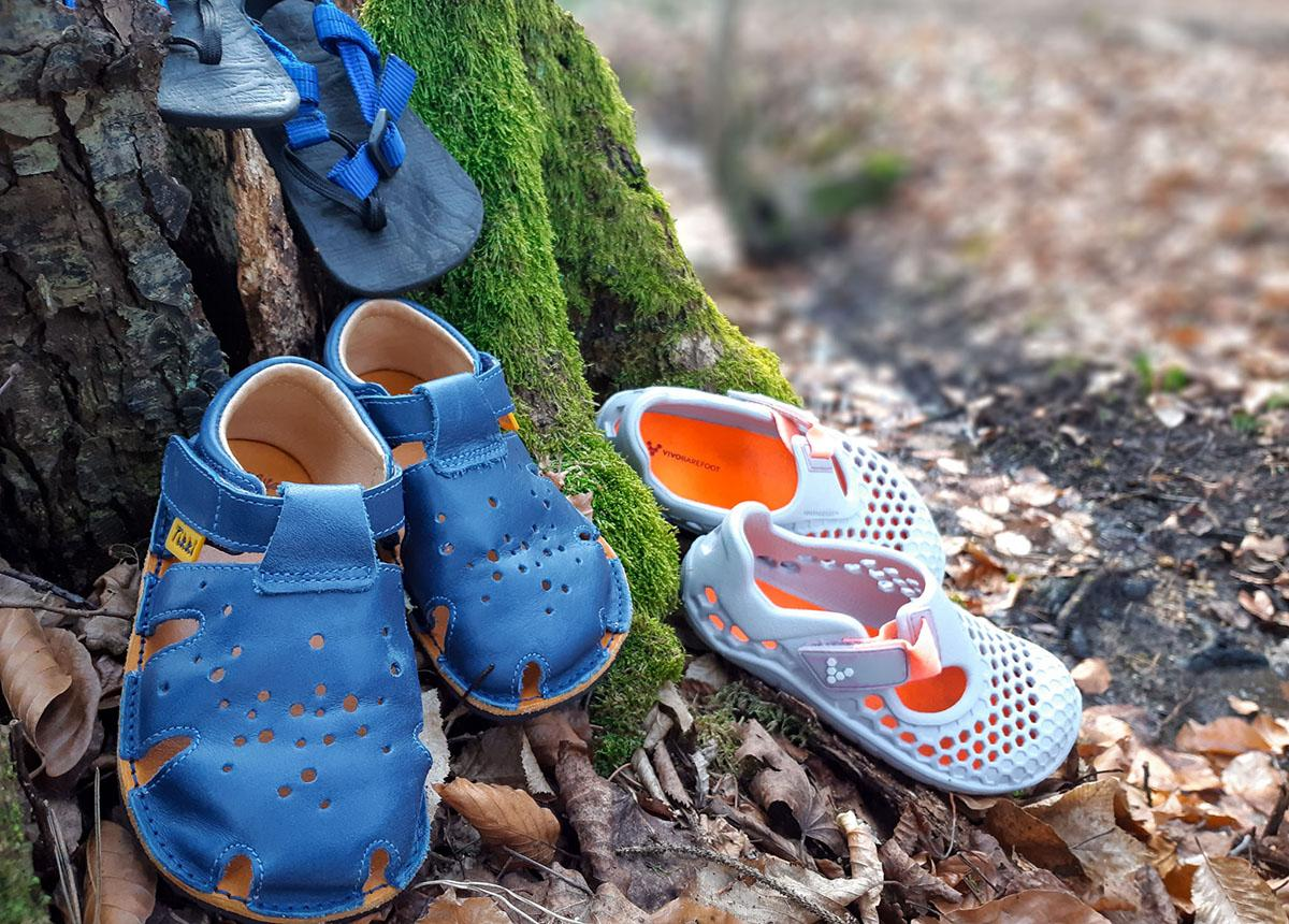 Bosonogi sandali za otroke